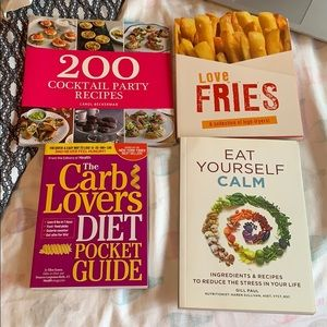 Bundle of cook books!